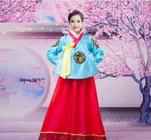 2018 summer asia hanbok formal dresses korean traditional clothes womens clothing dance costume