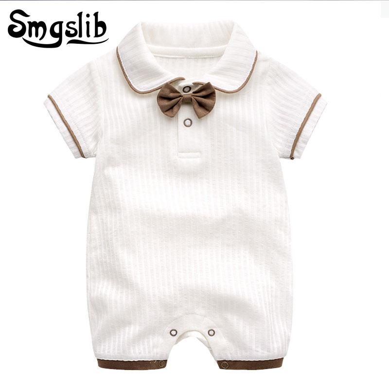 Newborn Baby Boys Bodysuit Short-Sleeve Onesie Hot Air Balloon Print Jumpsuit Spring Pajamas