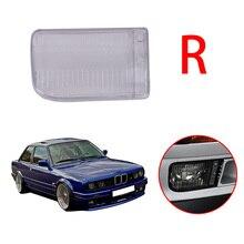 Right Side Transparent Plastic Front Bumper Fog Light Foglamp Cover For BMW E30 3Series 318i 325i