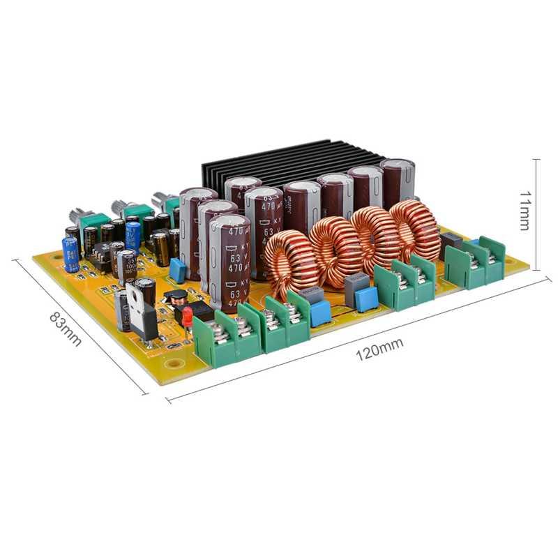 Tas5630 جهاز تضخيم الصوت مجلس الصوت فئة D 2.1 قناة مكبرات الصوت الرقمية 150Wx2 + 300 واط