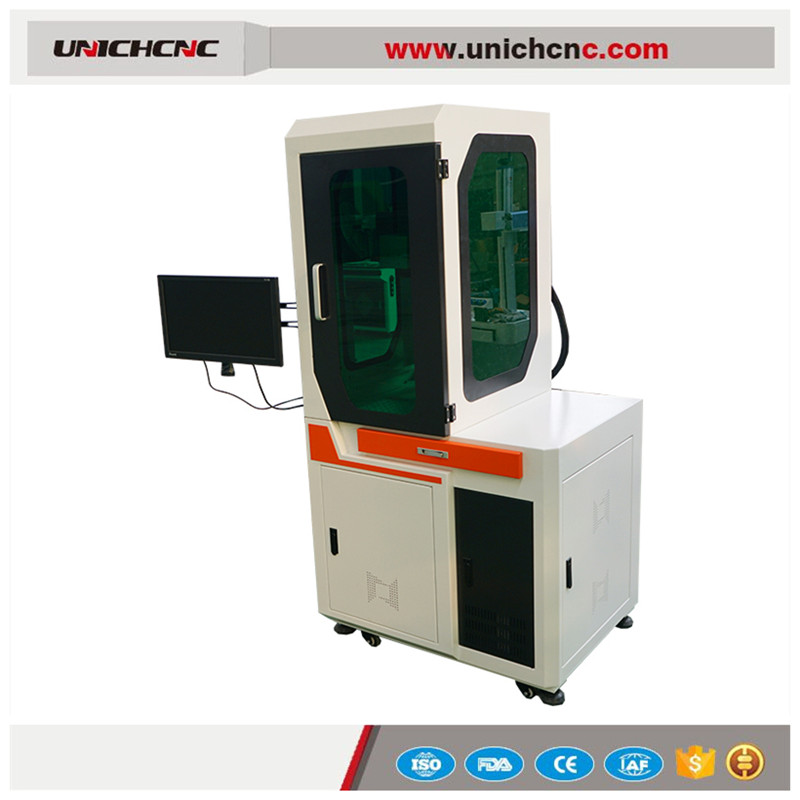 Depth Laser Marking Machine For Keyboards Of Cell Phone With Cover