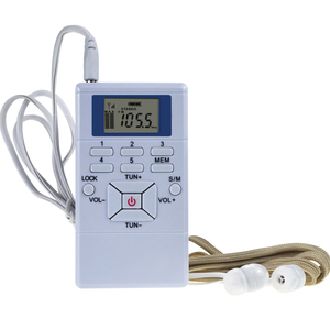Digital FM Radio Mini Speaker Portable R
