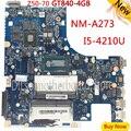 KEFU G50 70M Für Lenovo G50 70 Z50 70 i5 motherboard ACLUA/ACLUB NM A273 Rev1.0 mit GT840M grafikkarte Test|Motherboards|Computer und Büro -