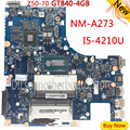 KEFU G50-70M For Lenovo G50-70 Z50-70 i5 motherboard ACLUA/ACLUB NM-A273 Rev1.0 with GT840M graphics card Test