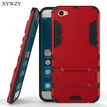 Voor Vivo X9 Case Shockproof Cover Zachte Siliconen Robot Hard Telefoon Cover Case Voor BBK Vivo X9 Cover Voor Vivo x9 X 9 Coque XYWZV