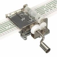 DIY ручной коленчатый Музыкальная шкатулка с 20 шт. 15 тон пустой бумажной ленты Дырокол