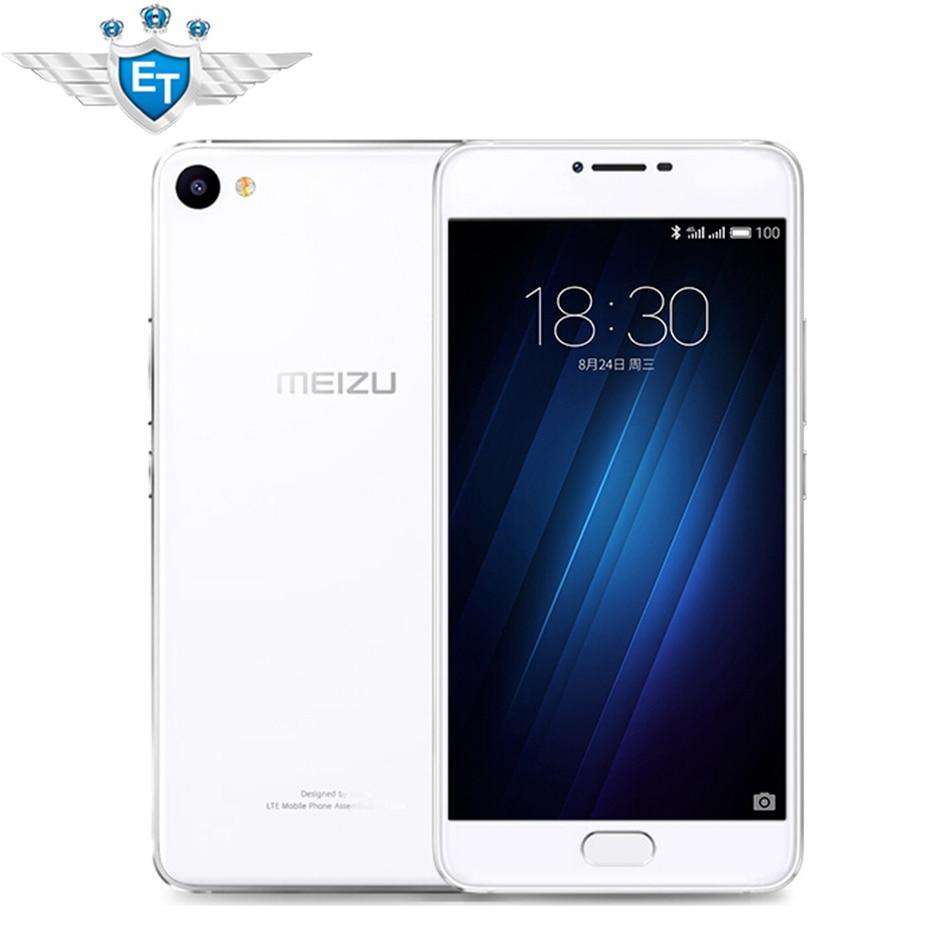 Original Meizu U10 5.0 Inch FHD 1080P MTK MT6750 Octa Core Cell phones 3GB RAM 32GB ROM 13MP Fingerprint mobile phone
