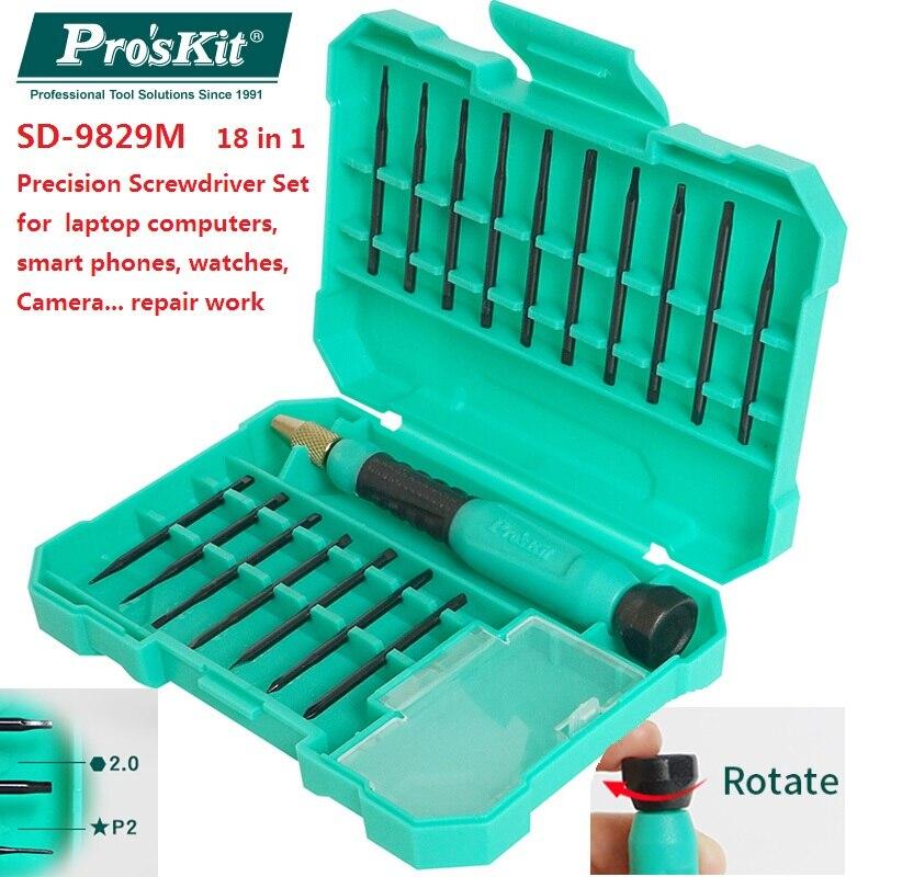 """""""Proskit SD-9829M"""" daugiafunkcis 18-ame tikslumo atsuktuvų - Rankiniai įrankiai - Nuotrauka 1"""