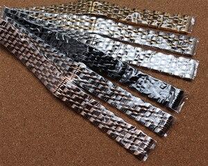 Image 2 - 良質バンド金属ステンレススチール時計バンド手首ストラップ 14 ミリメートル 16 ミリメートル 18 ミリメートル 20 ミリメートル 22 ミリメートル交換時計バンドのプロモーション新