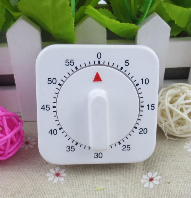 Mechanical Kitchen Timer 60 Minutes 1Hour Timer Digital Tips Loud Ringtones  Clock Easy Cooking Tools Egg Timer