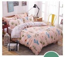 Home Stars Stripes USA Flag 3Pcs Bedding Sets Bedclothes Set Bed Linens Duvet Cover Quilt Cover Flat Pillowcase