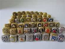 50 pcs 1927 To 2016 Chicago Cubs World Series Championship Ring Together solid Men Christmas Fan Gift Drop Shipping