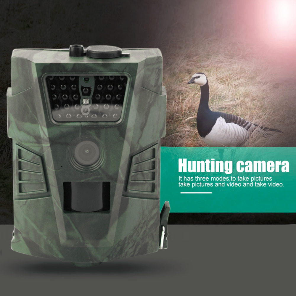 HT-001 Waterproof Trail Hunting Motion Camera Wild Hunter Cam Game Wildlife Forest Animal Cameras ht 002a wildlife hunting camera