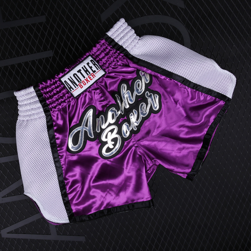 Men/Women/Child sport Fight Boxing Fitness Breathable Quick Dry Pants cheap mma boxing shorts muaythai shorts Muay Thai shorts image