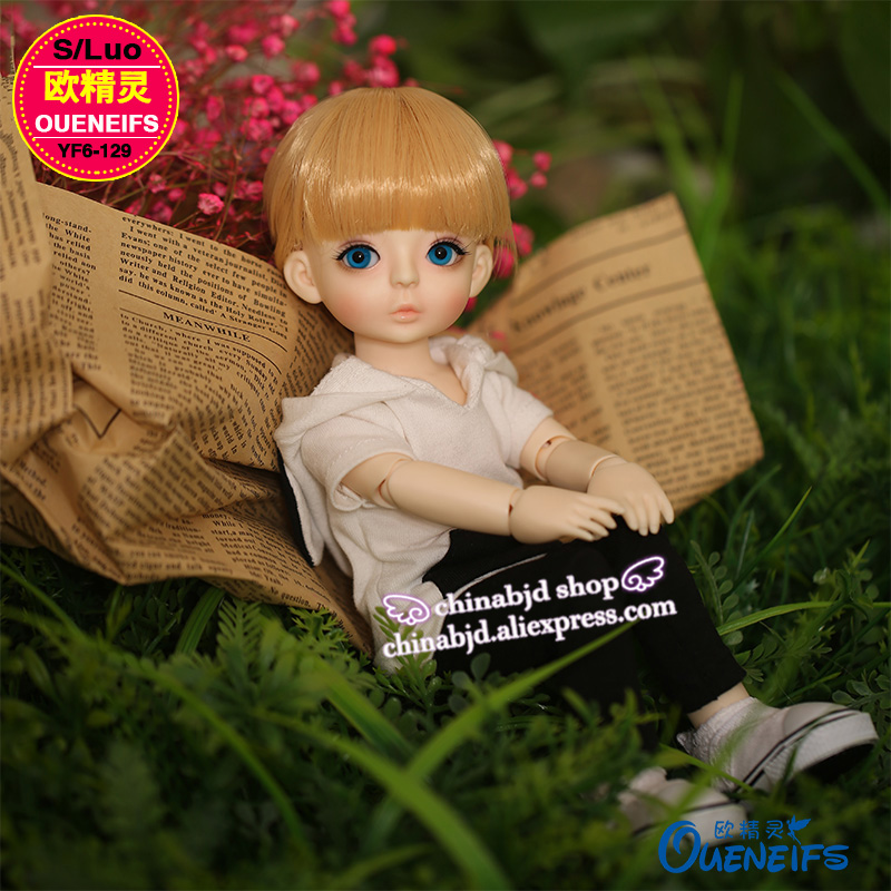 OUENEIFS free shipping Sports and leisure clothing Black-and-white clothes 1/6 bjd sd doll clothes ,no doll or wig YF6-129 oueneifs free shipping lace yarn dress and pink girl doll dress 1 6 bjd sd dolls no dolls or wigs yf6 148
