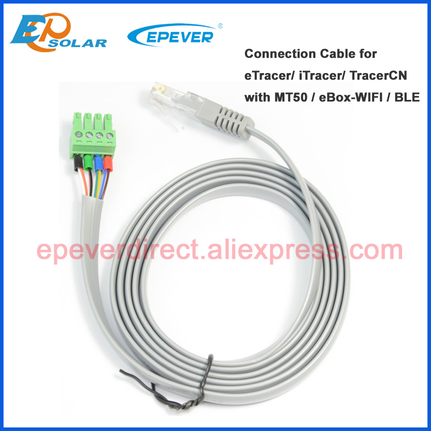 CC-RJ45-3.81-150U Connection cable for EPEVER solar controller IT ET series and CN series with MT50 remote meter eBOX-wifi/BLE