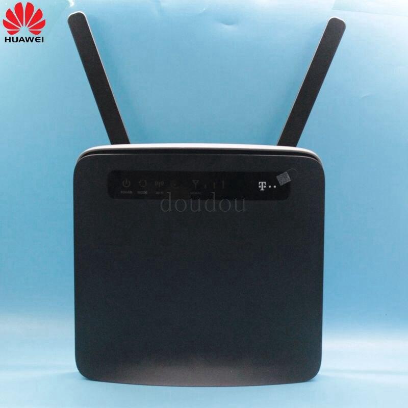 Unlocked New Huawei E5186 E5186s-22a avec Antenne 4g LTE CAT6 300 Mbps CPE Sans Fil Routeur Hotspot Gateway PK B593, b310, E5172