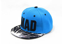 WENDYWU 2017 Children Hat Snapback Cap Children Embroidery MAD Letter Baseball Caps Kid Boys And Girls