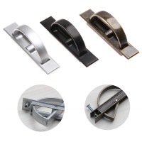 3Colors Vintage Zinc Alloy Concealed Cabinet Closet Door Handles Drawer Creative Pulls Knobs For Furniture Accessories