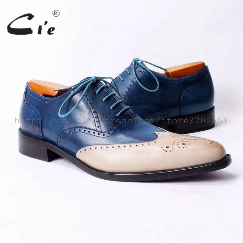 cie pointed toe full brogues casual leather men shoes bespoke genuine men shoes lace custom pure leather breathable outsoleOX317 купить часы haas lt cie mfh211 zsa