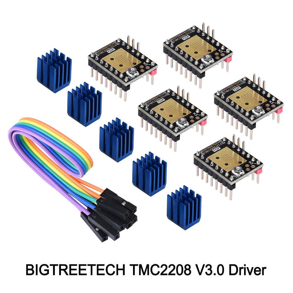 BIGTREETECH TMC2208 V3 0 Stepper Motor Driver StepStick TMC2208 UART mode  3D Printer Parts reprap TMC2130 suit SKR V1 3 board
