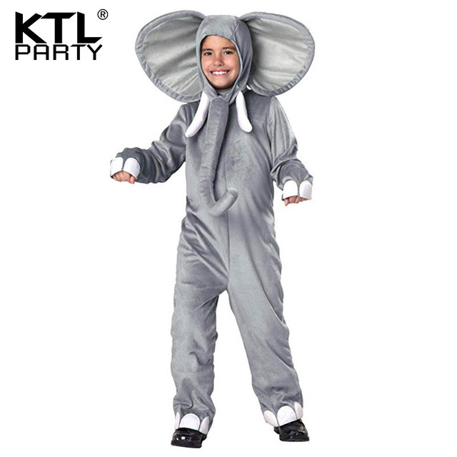 KTLPARTY Baby Elephant Costume Kids children Animal Onesies big ear nose Elephant Cosplay Costume Fancy Dress  sc 1 st  AliExpress.com & KTLPARTY Baby Elephant Costume Kids children Animal Onesies big ear ...