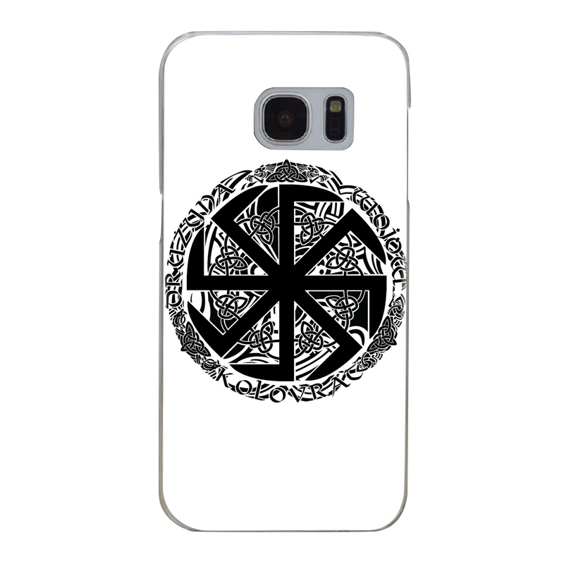 US $1 04 38% OFF G265 Slavic Symbol Kolovrat Transparent Hard PC Case Cover  For Samsung Galaxy S Note 3 4 5 6 7 8 9 Edge Plus-in Fitted Cases from