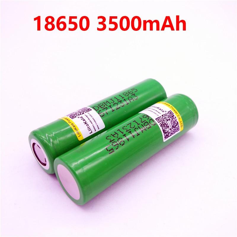 2 pcs Nouveau LiitoKala pour LG MJ1 Chem 18650 INR18650MJ1 10A décharge li-ion cellule de batterie 3500 mah INR18650MJ1 batteries