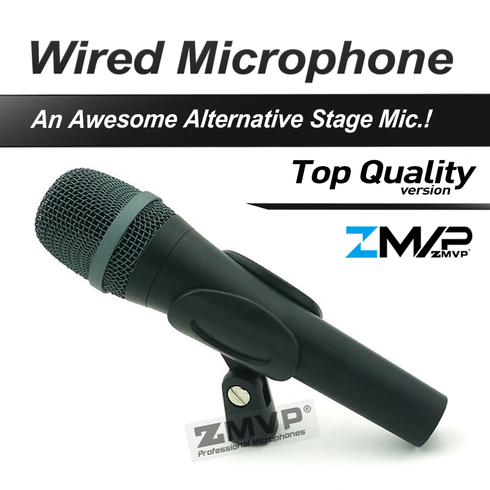 Free Shipping! Top Quality 945 Professional Karaoke Dynamic Super Cardioid Vocal Wired Microphone Microfone Microfono Mike Mic free shipping professional uhf wireless microphone system mic mike for karaoke ktv stage dj dynamic microfono sem fio microfone