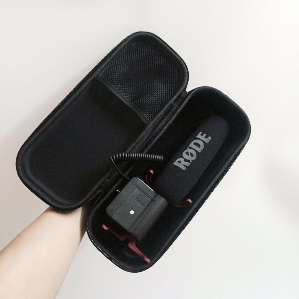 Hard Protecting Case for RODE videomic go pro ,waterproof AriMic EVA Hard Travel Case Carrying Bag for RODE VideoMic Me цена 2017