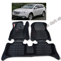 free shipping leather car floor mat carpet rug for subaru outback 2009 2010 2011 2012 2013 2014