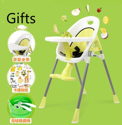 Destacável multifunções portátil assento do bebê cadeira de bebé crianças comer cadeiras dinette as crianças comem