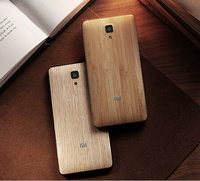 Official Original Wood Case For Xiaomi Mi4 Bamboo Back Battery Cover For Xiaomi Mi 4 Housing