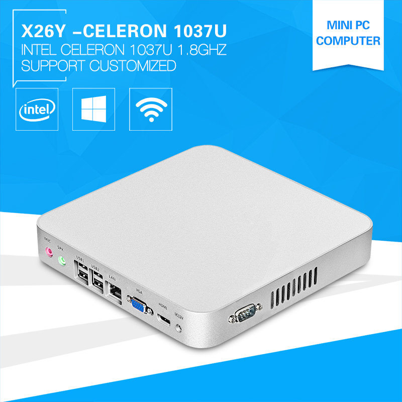 XCY Wholesale Mini Computer X 26Y 1037u Thin Client Embedded Audio Video Theater Displaying Machine