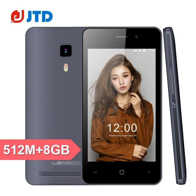 Original Leagoo Z1 Smartphone MTK6580M Quad Core 4Inch Android 5.1 512MB RAM 4GB ROM 800X480 Dual Sim 3G WCDMA GPS Mobile Phone