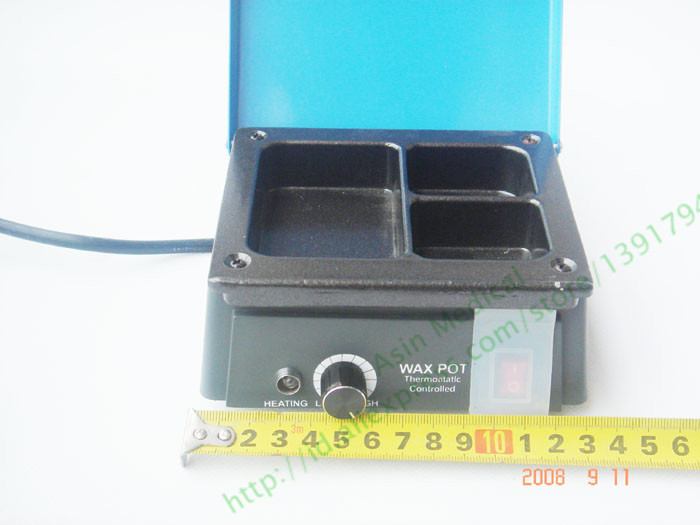 free shipping Dental Lab Technician Products 3 Pots Melting Wax Machine For Waxing Coping wax wax treatment machine 500ml in addition to wax melting wax machine 220v 1pc