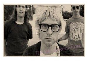Image 5 - Vintage Áp Phích Kurt Cobain/Niết Bàn Frontman/Rock Vintage Poster/Retro Kraft Áp Phích Thanh Tranh Trang Trí/5065