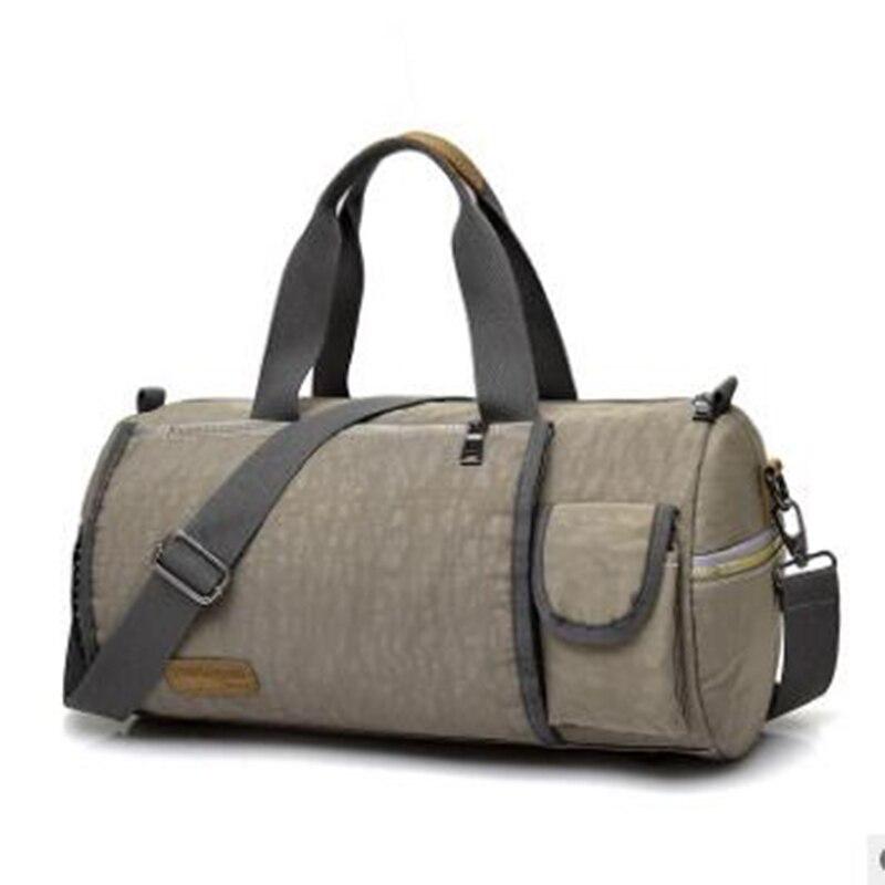 Waterproof Sports Gym Bag for Women Men Fitness Yoga Short Travel Luggage Bags 2017 super pop sport crossbody bag 40*23*20cm