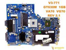 Original for ACER V3-771G laptop motherboard V3-771 GT630M 1GB VA70 VG70 REV 2.1 tested good free shipping