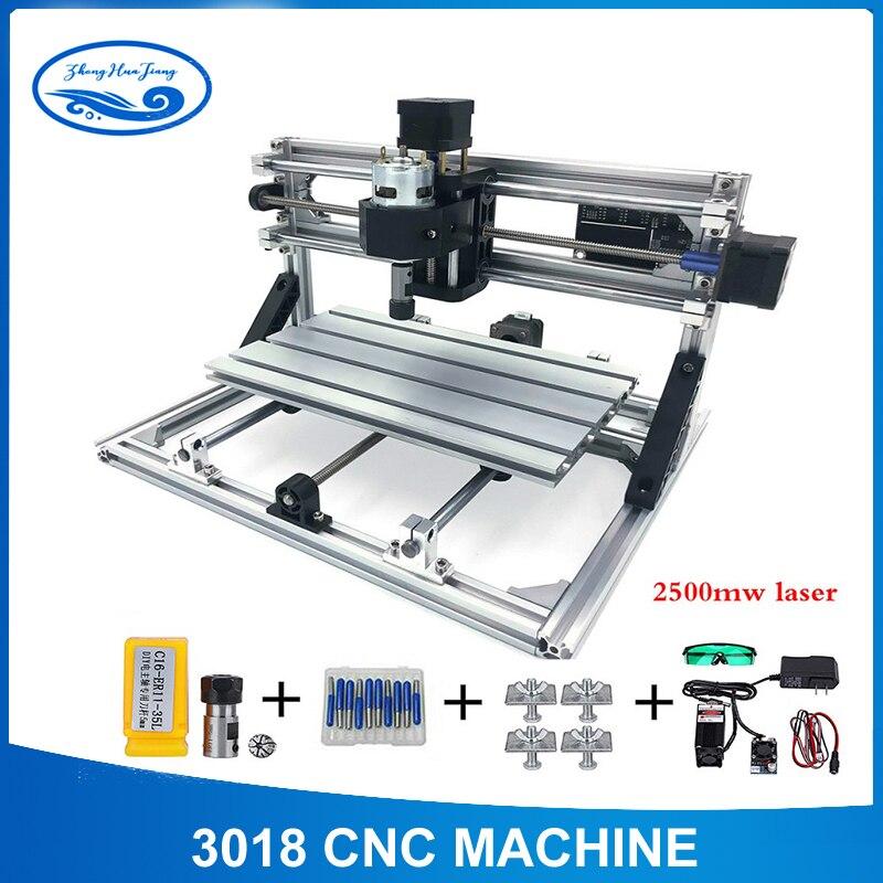 CNC routeur 3018 MIni Machine de gravure Laser bricolage graveur outil fraisage bois routeur GRBL contrôle pour le travail du bois