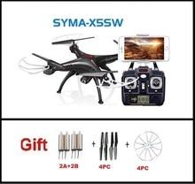 Más reciente Syma X5SW 2.4G RC quadcopter drone rc helicóptero con cámara de 2MP wifi FPV envío gratis