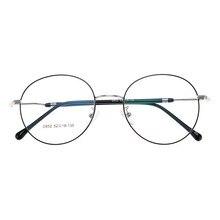 6e74812a9a 2019 nuevo hombre mujer Retro grande gafas redondas transparentes de  aleación gafas marco negro plata oro gafas 8 colores