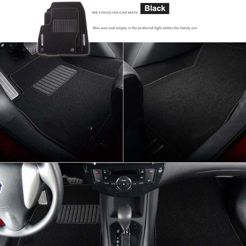 6pcs Премиум Авто мата Нейлон - Автокөліктің ішкі керек-жарақтары - фото 5