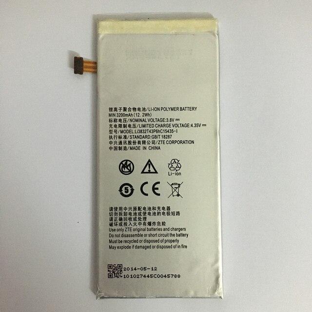 3200mAh Li3832T43P6hC15435-I For ZTE Grand M901C / Grand Memo II / Z787/ Grand X MAX / Lever / Z936L / Lever LTE Z936L Battery