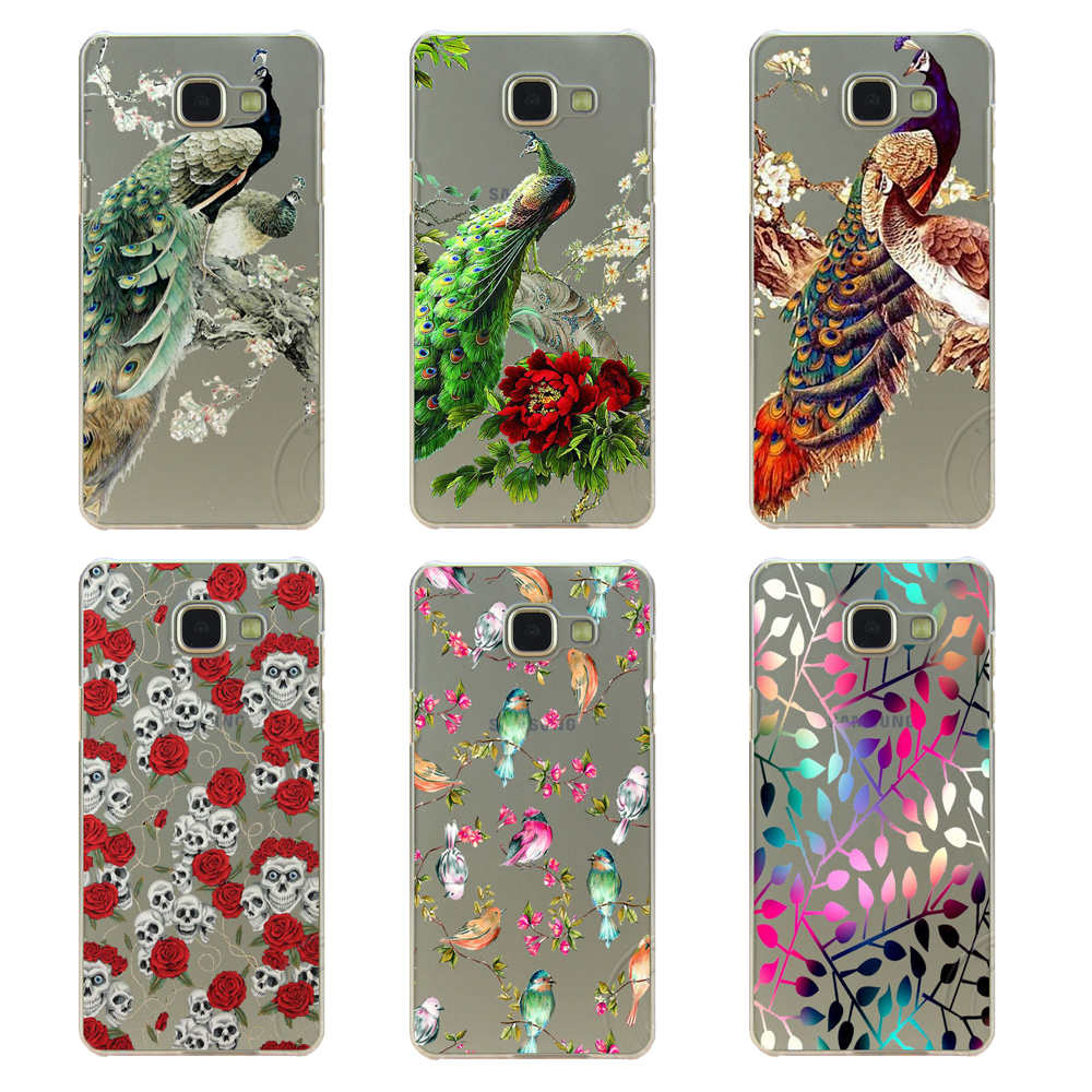 Pu leather case for samsung galaxy a7 2016 a710 peacock feather - Super Beautiful Peacock And Feather Design For Samsung Galaxy A3 A5 A7 2015 2016 Cover Case