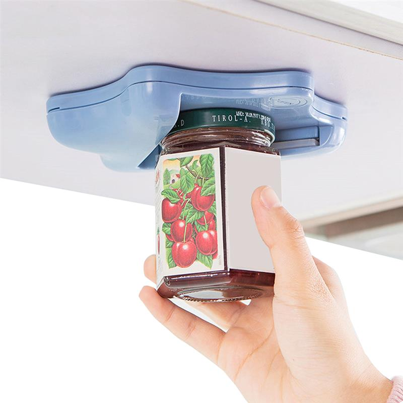 Smart Can/Bottle Opener and Jar Opener Made with ABS Plastic and Silicon