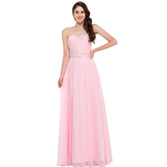 Comprar ahora Robe de Soiree noche Vestidos largo gasa vestidos de ...