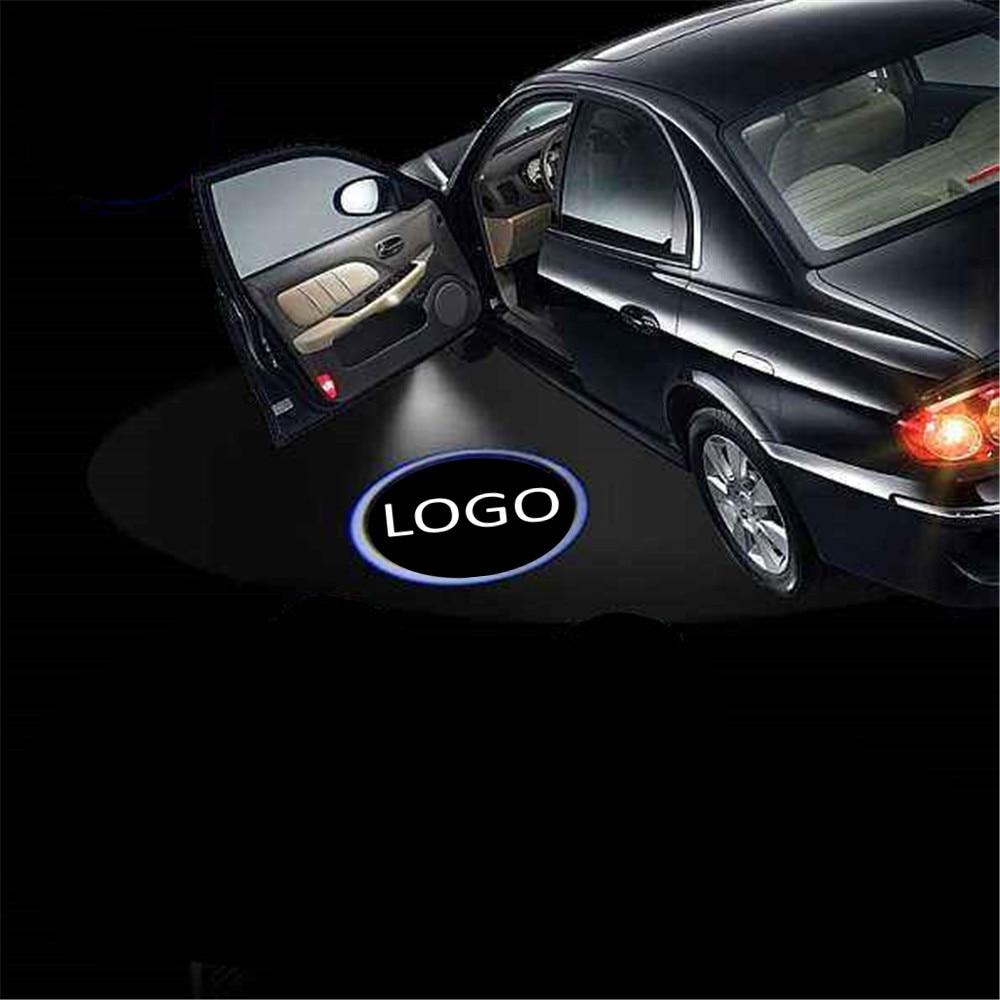 JingXiangFeng 2 шт. светодиодный Двери Автомобиля предоставлено проектор логотип свет для Skoda Superb старый Octavia Febia Roomster