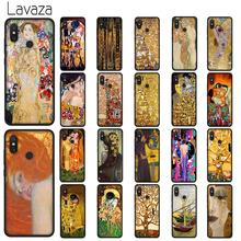 Lavaza Kiss by Gustav Klim Golden Tears Soft TPU Case for Xiaomi Redmi Note 5 6 7 Pro for Redmi 5A 6A S2 5 Plus Silicone Cover lavaza mona lisa skull by samuxx soft tpu case for xiaomi redmi note 5 6 7 pro for redmi 5a 6a s2 5 plus silicone cover