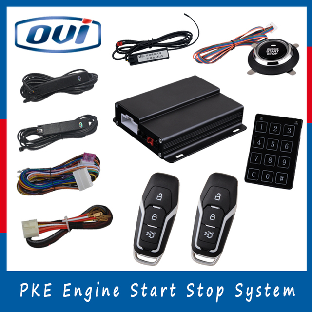 Manufacture Price Remote engien start/stop Passive Entry PKE Push ...